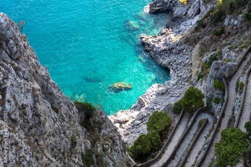 Foto the beautiful Capri island, via Krupp