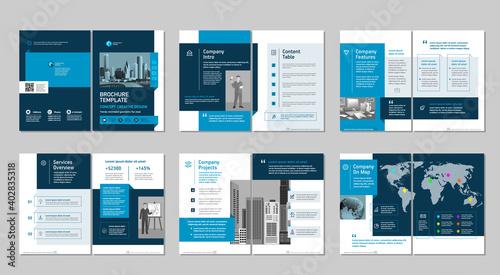Obraz na plátně Brochure creative design