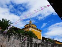 Ruelles Colorées De Granada Au Nicaragua