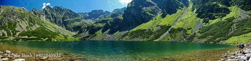 panorama górska - fototapety na wymiar