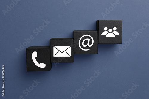 Fototapeta Hotline service
