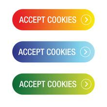 Accept Cookies Click Button Set