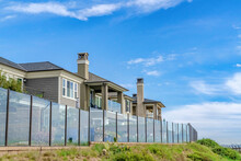 Homes With Glass Fences And Scenic Waterfront Views In Huntington Beach CA