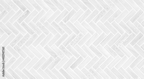 Leinwand Poster Gray and white mosaic marble wall tile texture in geometric square shape pattern