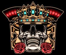 King Skull Spartan
