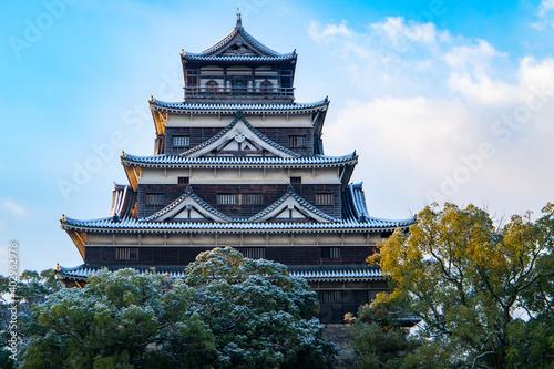 Fototapeta 冬の広島城