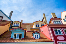 Colorful Old City Rooftops