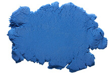 Blue Kinetic Sand Background Texture