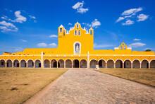 Izamal, Mexico. Convent Of Saint Anthony Of Padua.