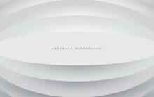 White 3D Emboss Shape Background Texture