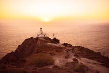 Magical Sunset  In Santorini, Summer Time, Trave, Hot Season