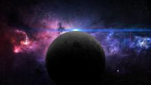 Planet Mercury In Retrograde 3d Illustration