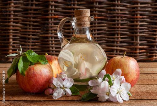 Fototapeta Apple cider vinegar obraz