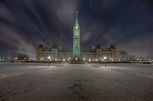 Centre Block Of Canadian Parliament