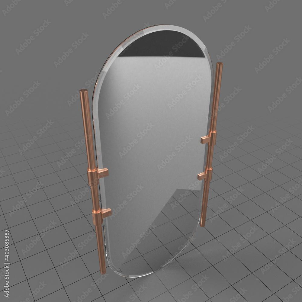 Fototapeta Wall mirror