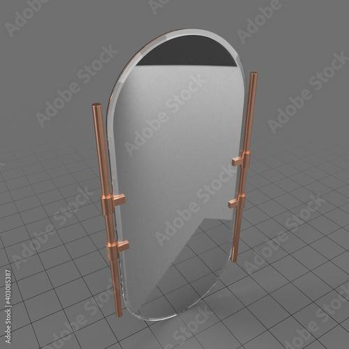 Obraz Wall mirror - fototapety do salonu