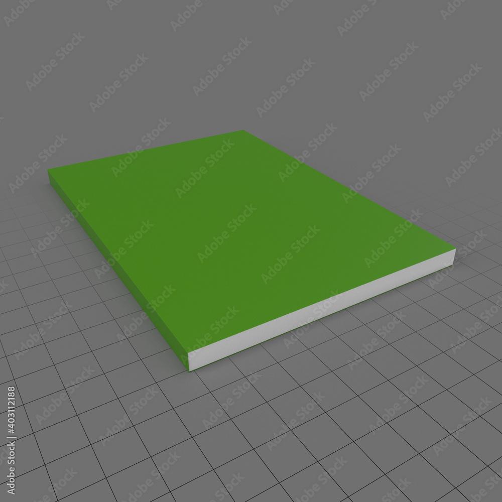 Fototapeta Closed book