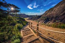 Horseshoe Canyon Trail Near Drumheller, Alberta, Canada