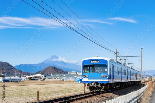 Papel de parede 静岡県伊豆の国市から見た富士山のある風景