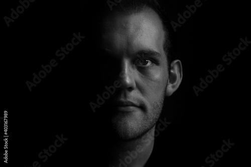 Fotografie, Obraz Self-portrait