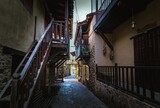 Fototapeta Uliczki - narrow street in the village