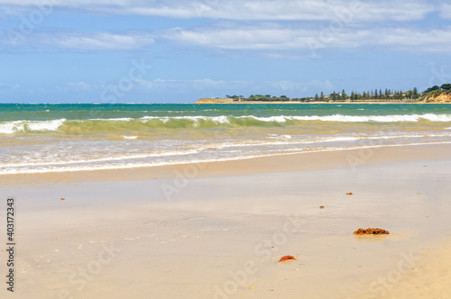 This beautiful stretch of beach was named after Andrew White, an English settler Fototapet