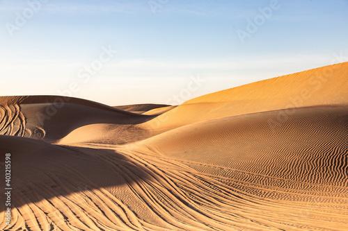 sand dunes in the desert Fotobehang