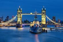 HMS Belfast And Tower Bridge 2020