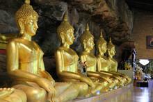 Buddha Statue, Wat Tham Khuha Sawan Khong Chiam District Ubon Ratchathani Province, Thailand