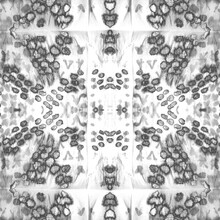 Skin Seamless Pattern. Monochrome Dots. Smoke