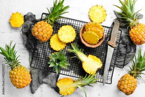 Obraz na plátně Pineapple collection