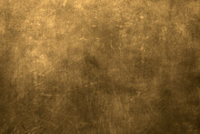 Golden Grunge Metal Texture