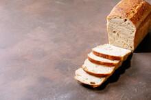 Homemade Sliced White Bread