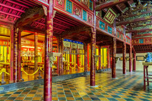 Buddhist Temple Forbidden Purple City, Hue, Vietnam