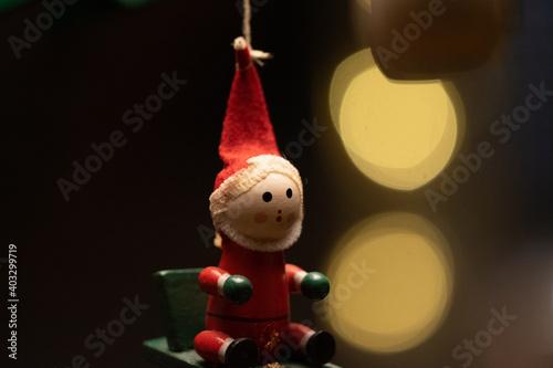 Fotografia, Obraz Muñecos Navidad