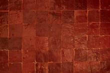 Riad, Morocco, Red Mosaic Terracotta