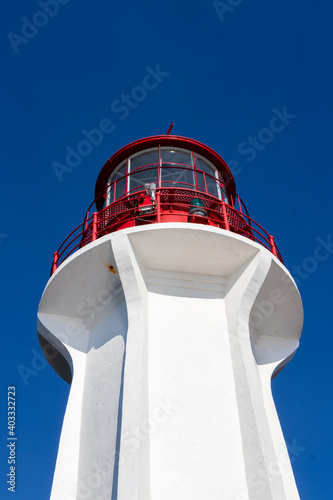 Sheringham Point Lighthouse on Vancouver Island, British Columbia Fototapeta