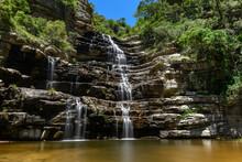 Hoopoe Falls In Oribi Gorge On The Kwazulu Natal South Coast.