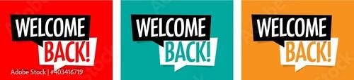 Fotografie, Obraz Welcome back
