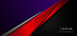 Template corporate concept red black purple and grey contrast background.
