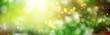 lichter sonne natur abstrakt partikel banner bokeh