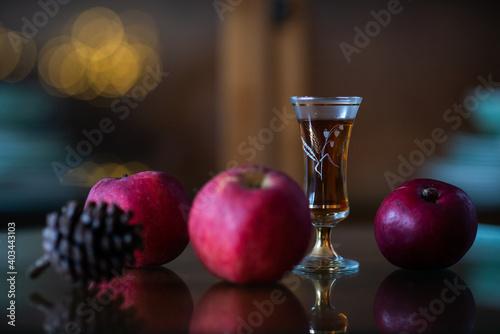 Obraz na plátně still life with sherry