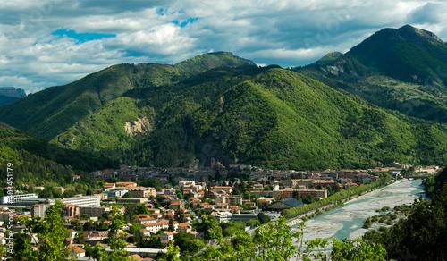 Valokuva Vue panoramique de Digne, France