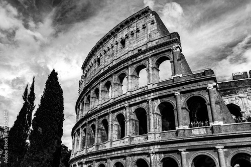 The Mighty Colosseum Fototapet