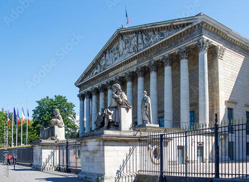 Canvastavla Assemblée Nationale, Palais Bourbon à Paris