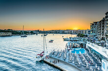 Sunset Over Sliema