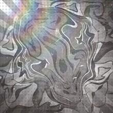 Szara Tekstura Ze światłem W Lewym Górnym Rogu Abstrakcja