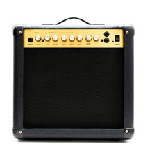 Small Electric Guitar Amplifier.