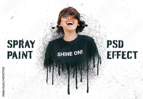 Obraz Spray Paint Effects - fototapety do salonu