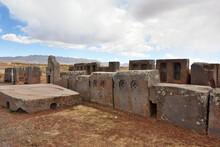 Ruins Of Pumapunku, Bolivia